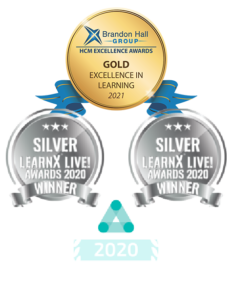 Gold Learning Award 2021 and other 2020 awards